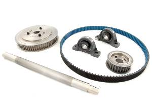 "DYNOmite countershaft kit for 9"" absorbers."