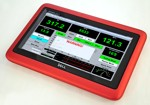 DYNO-MAX runs fine on our high-end (64-bit Pro+) console's PCs or even this unique flip-top tablet. There is even 
